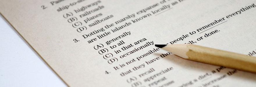réussir l'examen du TOEFL